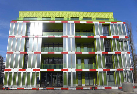 HarborLAB sponsor Arup building in Germany with a photobioreactor skin.
