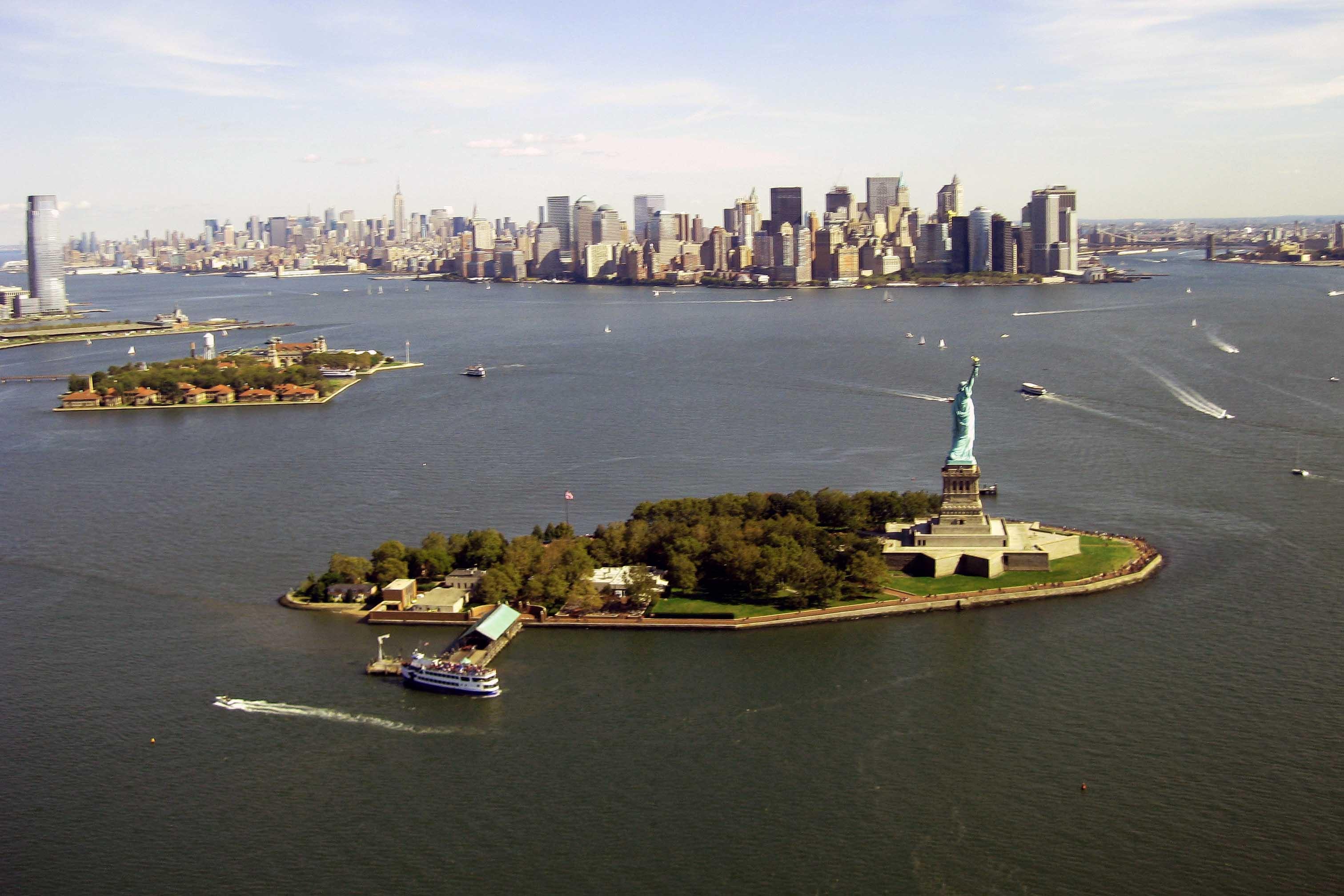 Ellis Islad Liberty Island And Governors Island Map