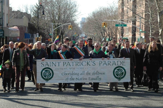 St. Pat's for All Parade (http://www.stpatsforall.com/).