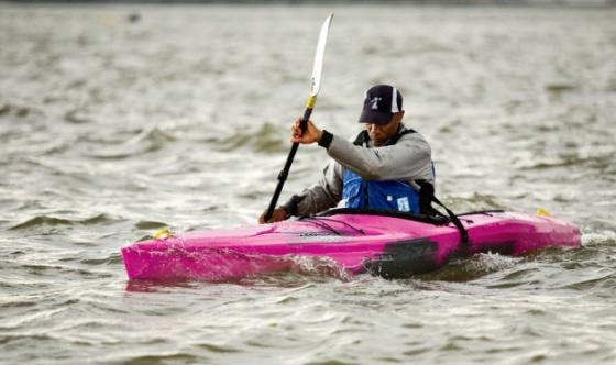 Pyranha Speeder kayak. Photo by Robert Zaleski for Canoe & Kayak.