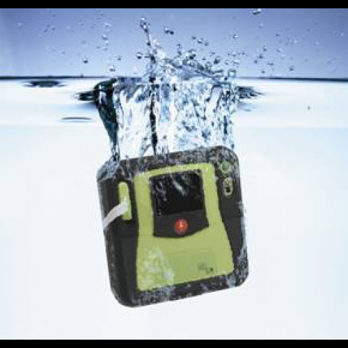 Waterproof AED. A new budget priority for HarborLAB.